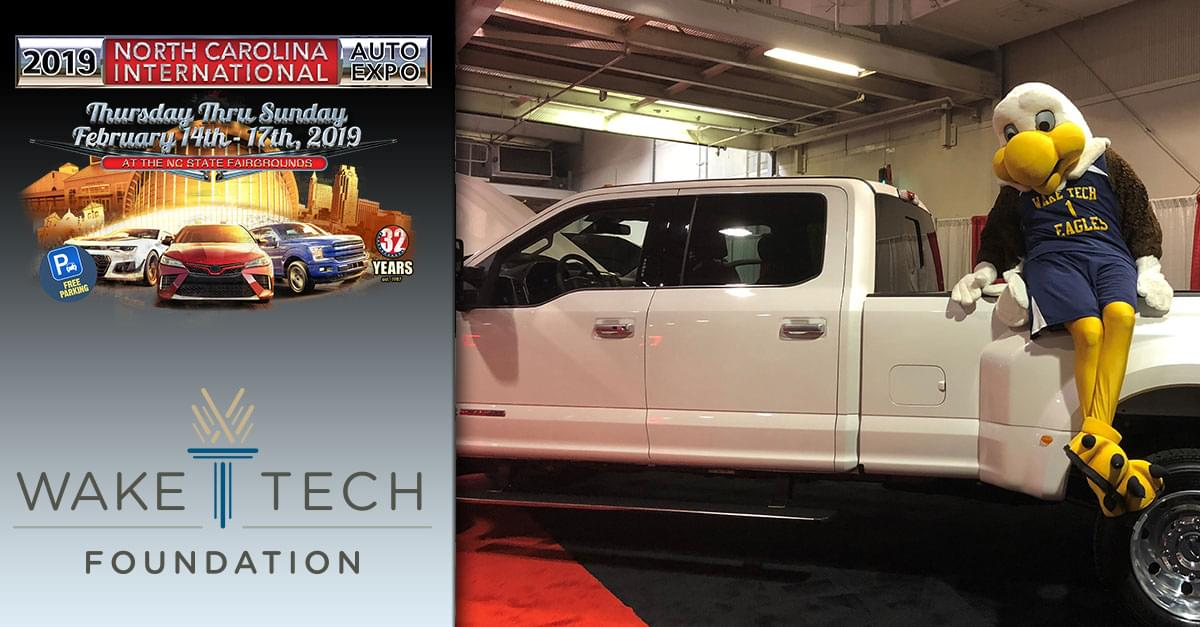 Start Your Automotive Career with Wake Tech and the NC Auto Expo