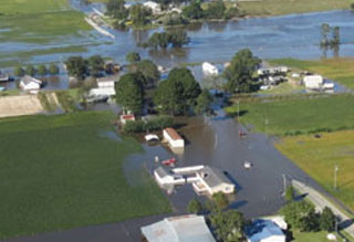 ENC flooding