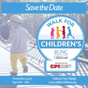 UNC Children's Walk