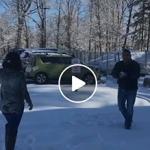 Haciendo Retos en la Nieve
