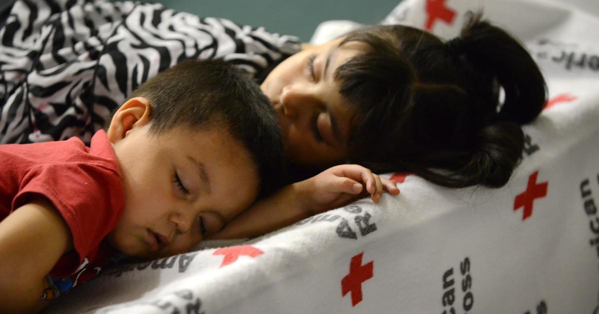 Fotos: Refugio de la Cruz Roja en Wilson