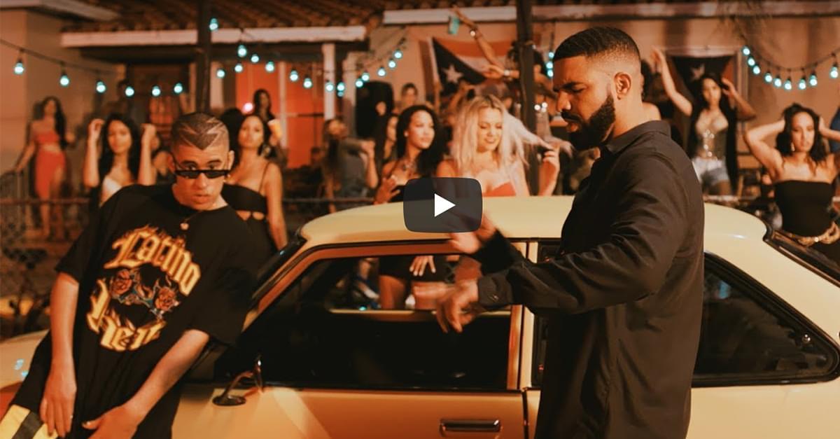 """Drake Canta en Español en la nueva canción """"MIA"""" de Bad Bunny"""