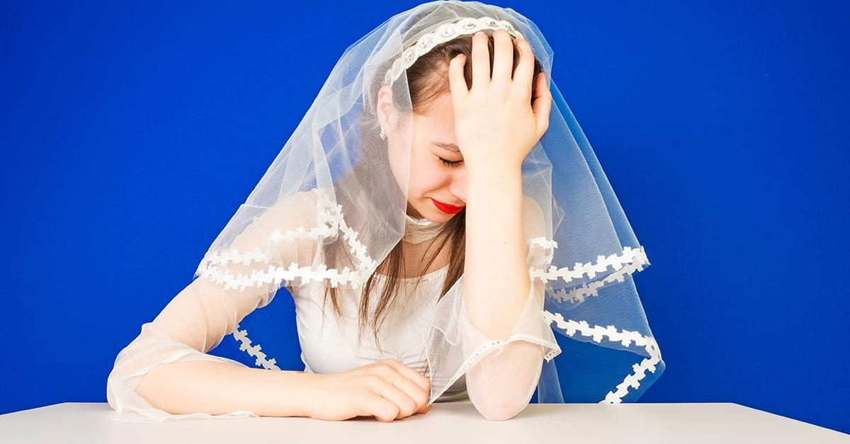 Una de las peores cosas que te podria pasar seria que el novio cancele la boda a horas de que sucediera, no crees?