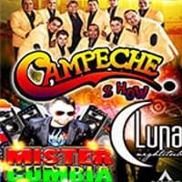 Campeche Show en Luna Nightclub