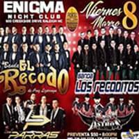 Banda Los Recoditos en Enigma Nightclub