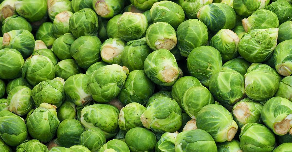 Frutas y verduras con Kuy: Coles de Bruselas