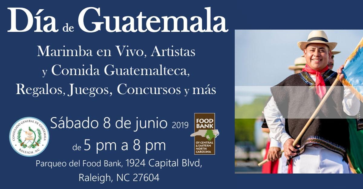 Día de Guatemala en Raleigh!