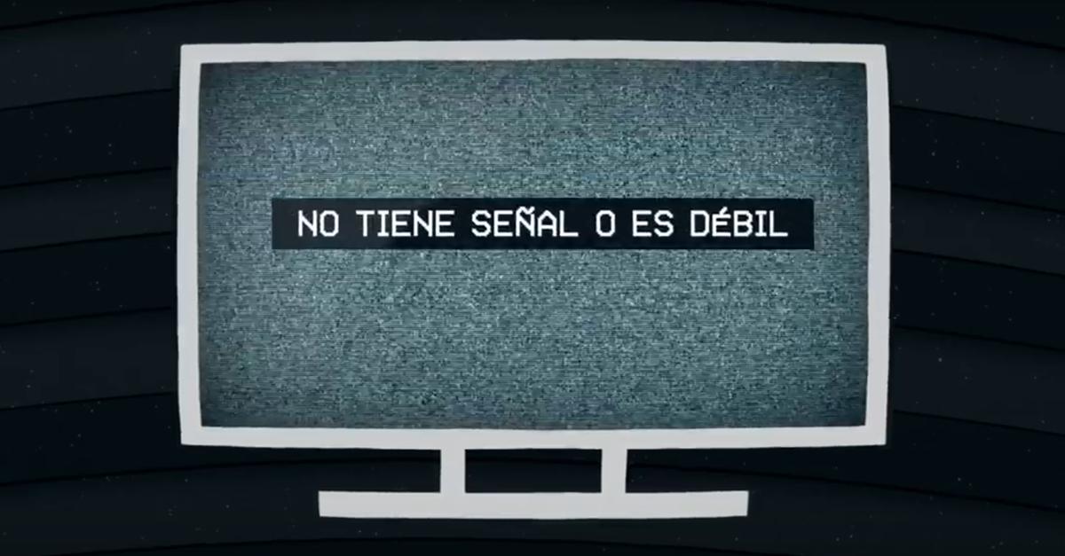 No puedes ver la TV?