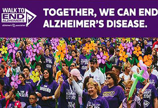 Join us for the Walk to End Alzheimer's!