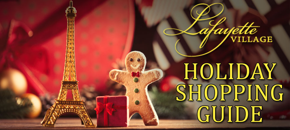 Lafayette Village HOliday Shopping Guide