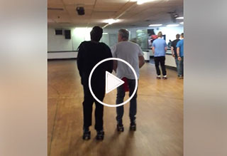 Watch: Shuffle Skating