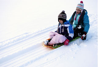Raleigh Parks, Recreation Providing Sleds at Dix Park