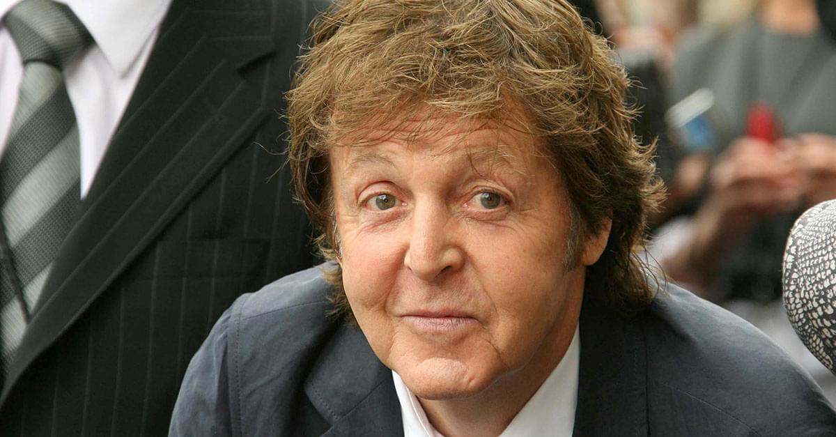 Paul McCartney Spotted on Train in Second Class
