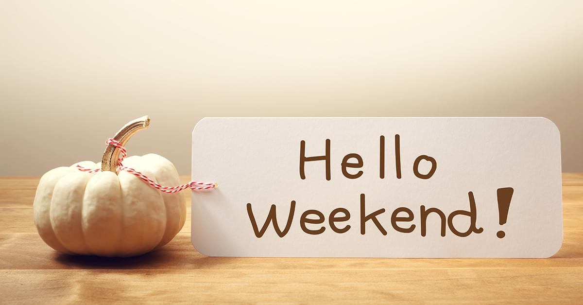 Weekend Events: Oct 12th – 14th
