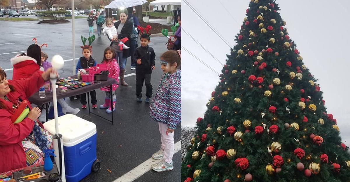 Kix at Crossroads Plaza Holiday Celebration