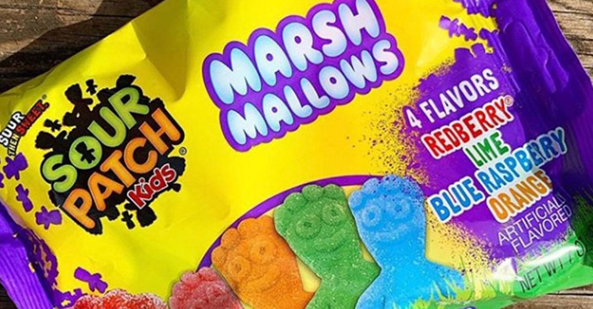Sour Patch Kids and Marshmallows Combine Forces