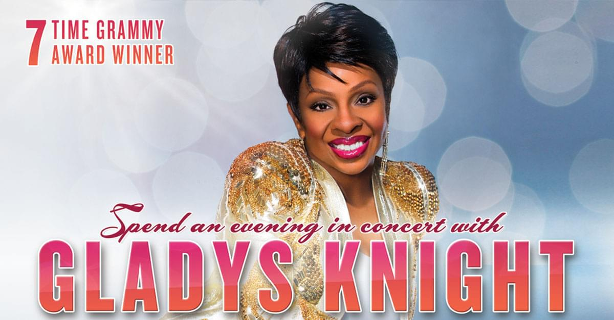 The Empress of Soul, Gladys Knight, is headed to DPAC!