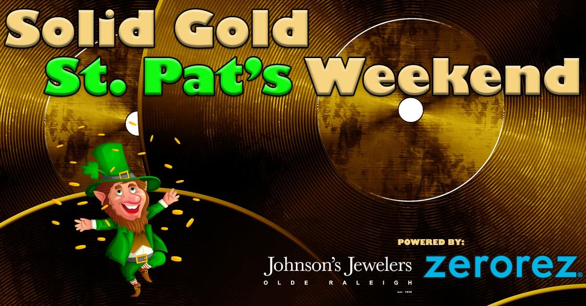 Solid Gold St pats