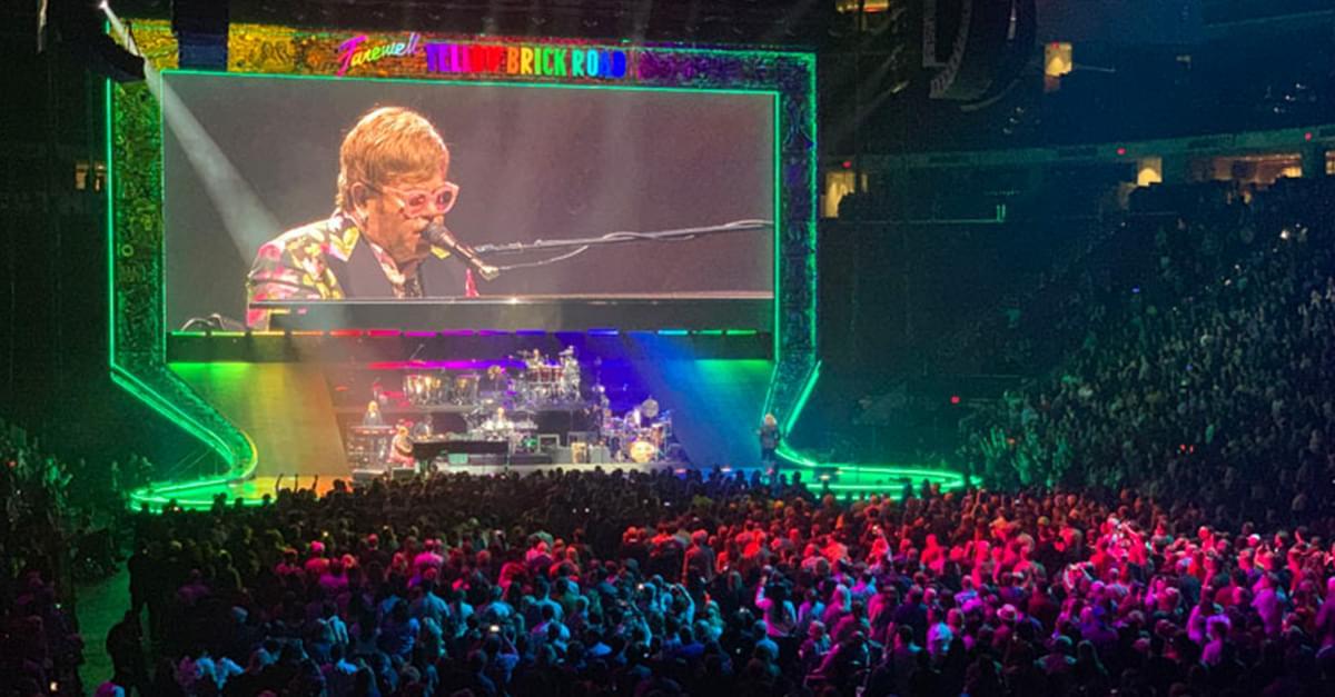 WATCH: Elton John in Raleigh