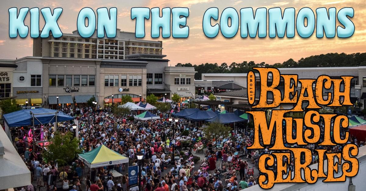 Kix on the Commons at the North Hills Beach Music Series