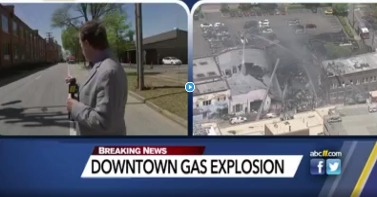 Durham explosion leaves 1 dead, 15 injured after contractor hit gas line