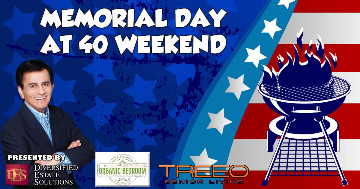 Memorial Day AT40 Weekend