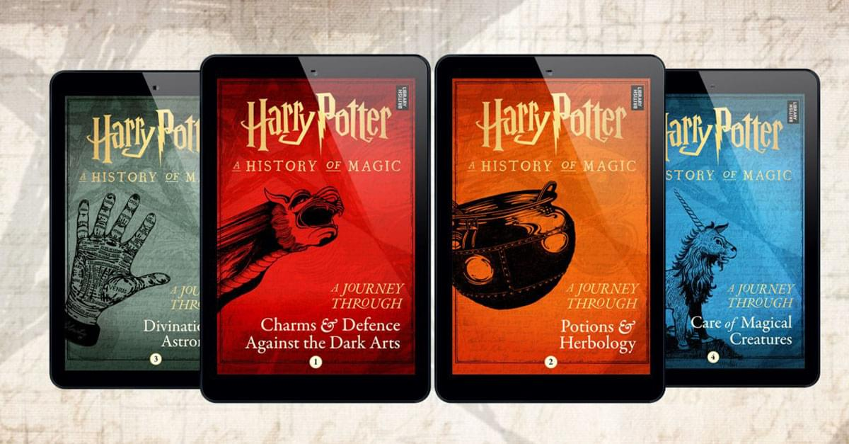 'Harry Potter' to Release 4 New e-books