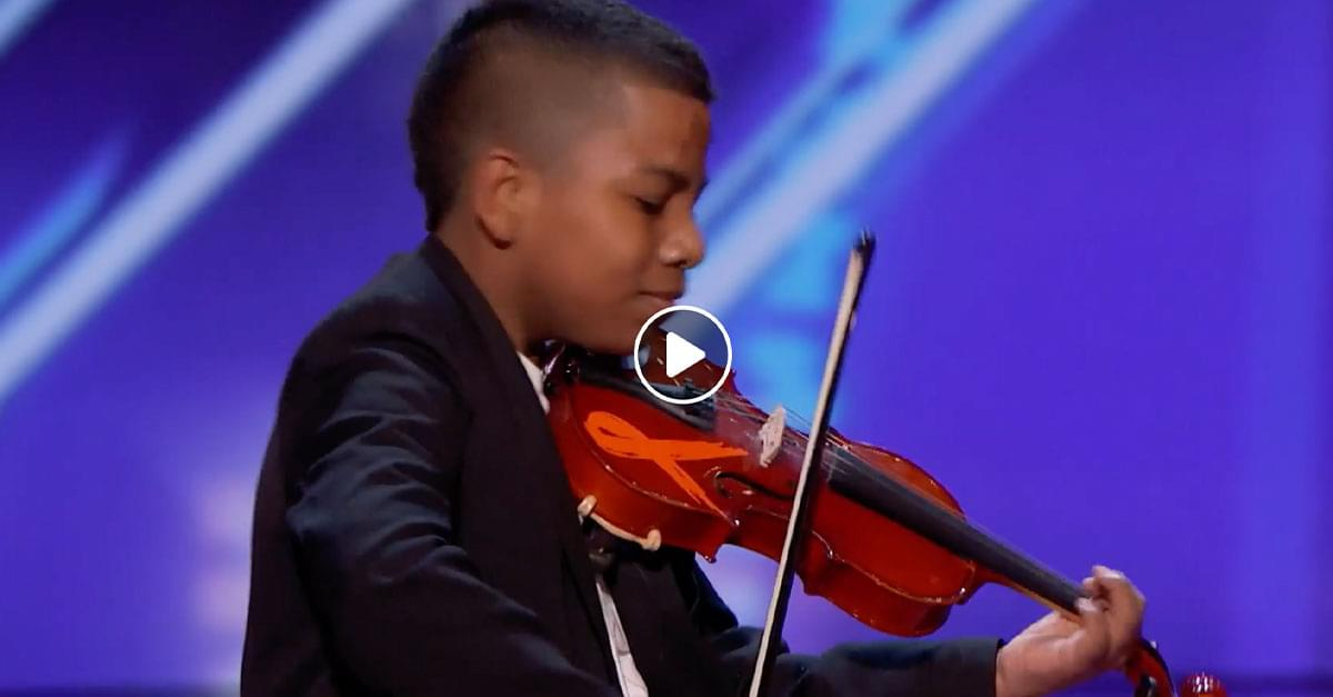Watch: NC Boy Earns Golden Buzzer on America's Got Talent