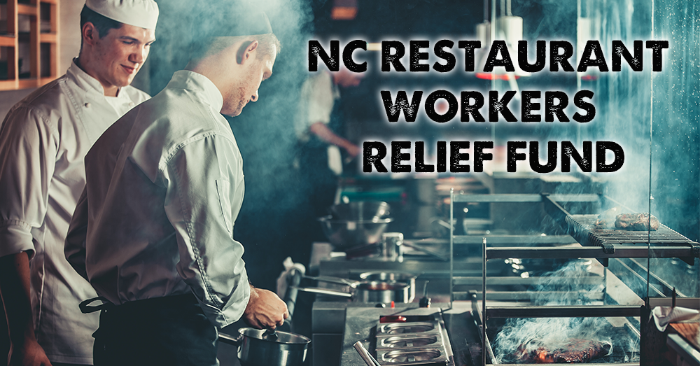 NCRLA launches NC Restaurant Workers Relief Fund
