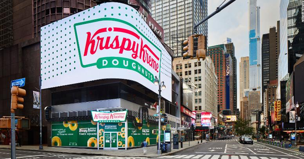 New Krispy Kreme to have glaze waterfall and theater seats!