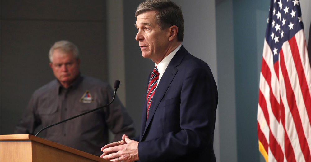 Gov. Roy Cooper announces loosened restrictions on event gatherings