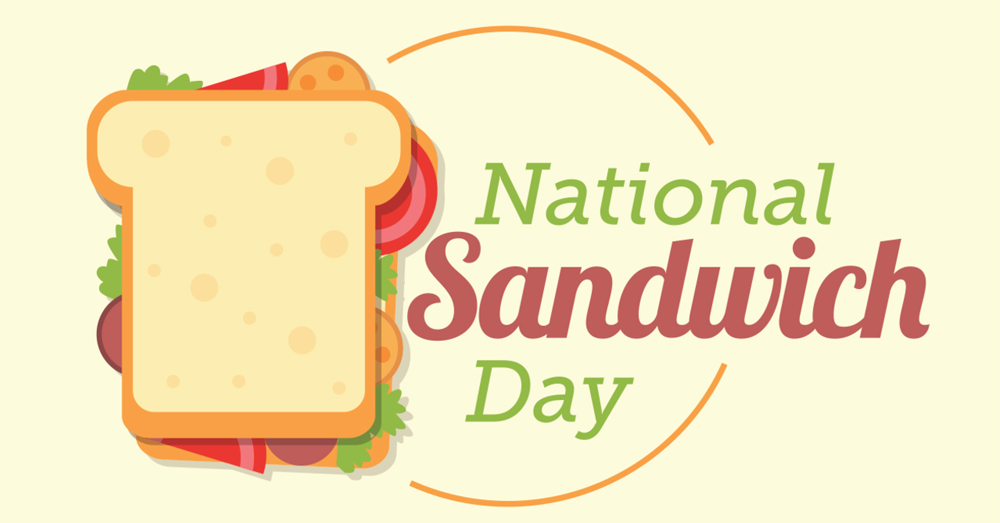 National Sandwich Day is Tuesday, November 3!