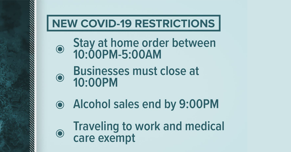 Gov. Roy Cooper Issues Modified Stay at Home Order