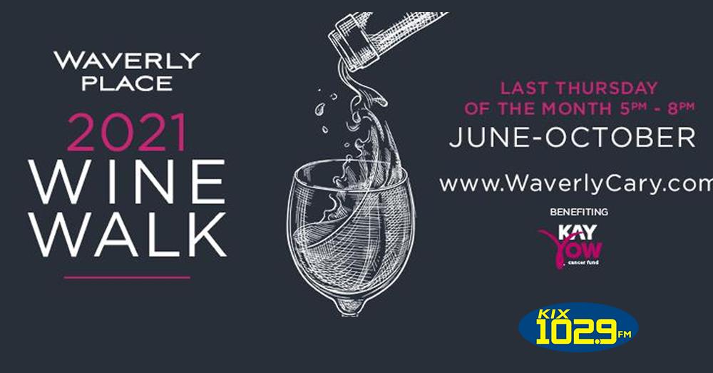 Join Jenn at Waverly Place's 2021 Wine Walk!