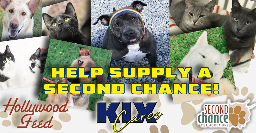 KIX Cares – Supply a Second Chance with Hollywood Feed