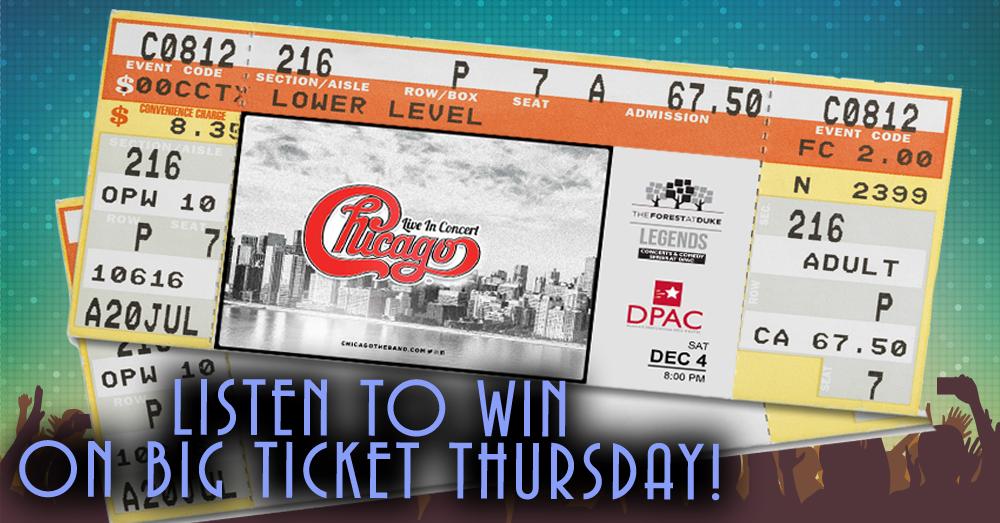 Big Ticket Thursday: Chicago