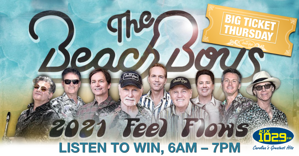 Big Ticket Thursday:  Listen to Win Beach Boys' Tickets