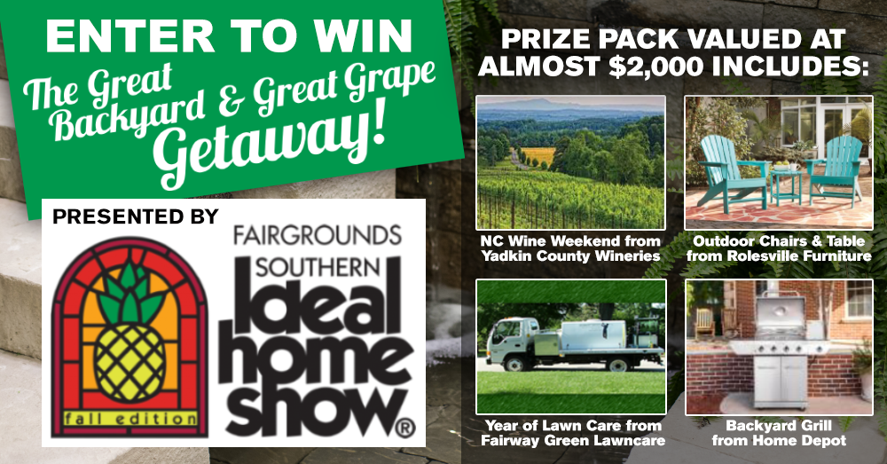 Enter to Win the Great Backyard and Great Grape Getaway!