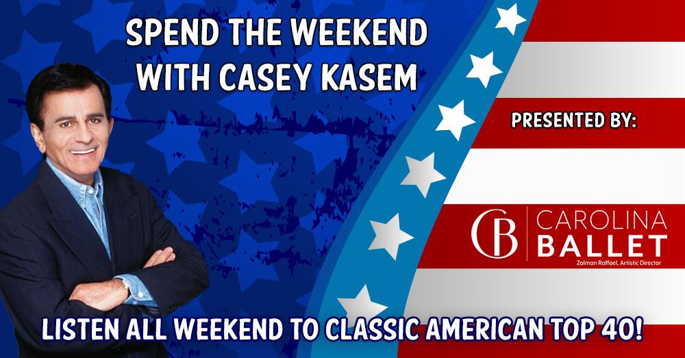 AT40 with Casey Kasem:  Sponsored by The Carolina Ballet on 9/18/21 & 9/19/21
