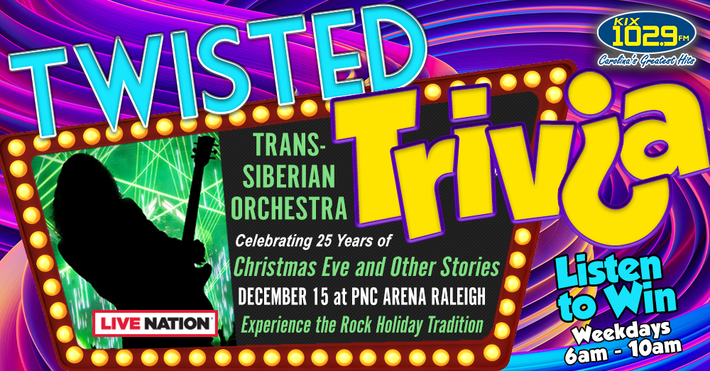 Twisted Trivia: Listen To Win Tickets To Trans-Siberian Orchestra
