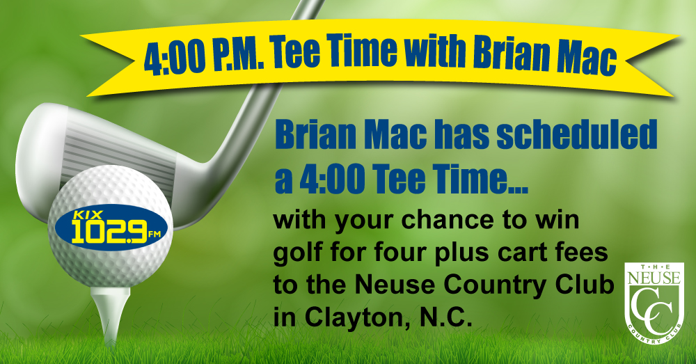 Listen to Win VIP Golf Package at Neuse Country Club