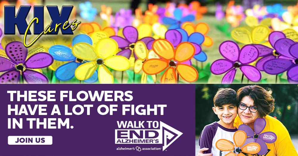 KIX Cares: Walk to End Alzheimer's