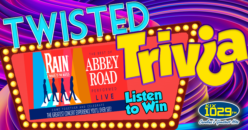 Twisted Trivia: Win Tickets to RAIN