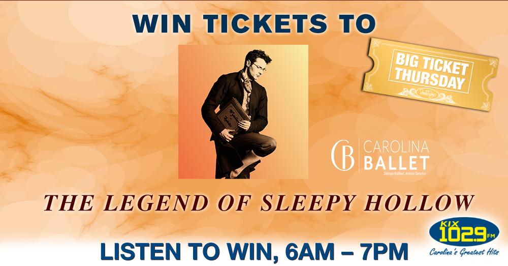 Big Ticket Thursday: The Legend of Sleepy Hollow