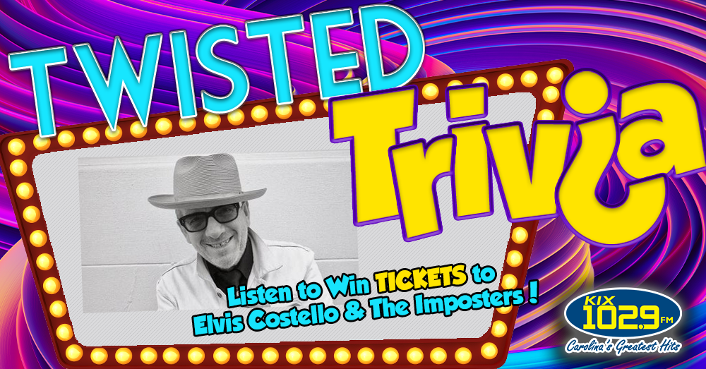 Twisted Trivia: Win Tickets to See Elvis Costello & The Imposters
