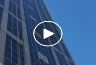 Video: Brittani Rappelling Down Wells Fargo