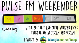 Pulse FM Weekender: December 22nd – December 24th