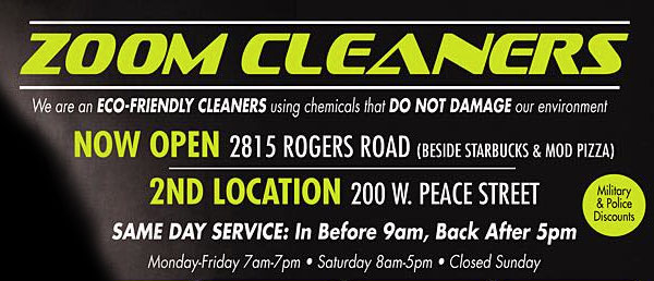 Zoom Dry Cleaning
