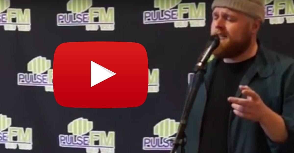 WATCH: Tom Walker performs at our Pulse FM Listener Lounge