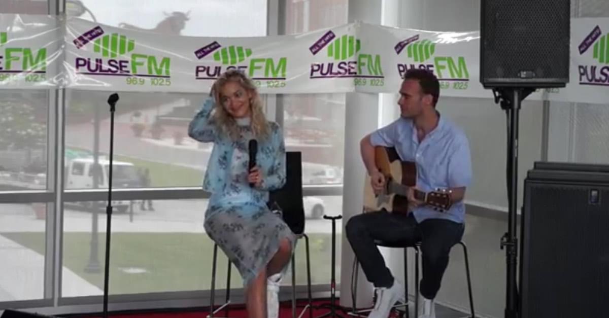 WATCH: Rita Ora performs in Pulse FM Live Lounge